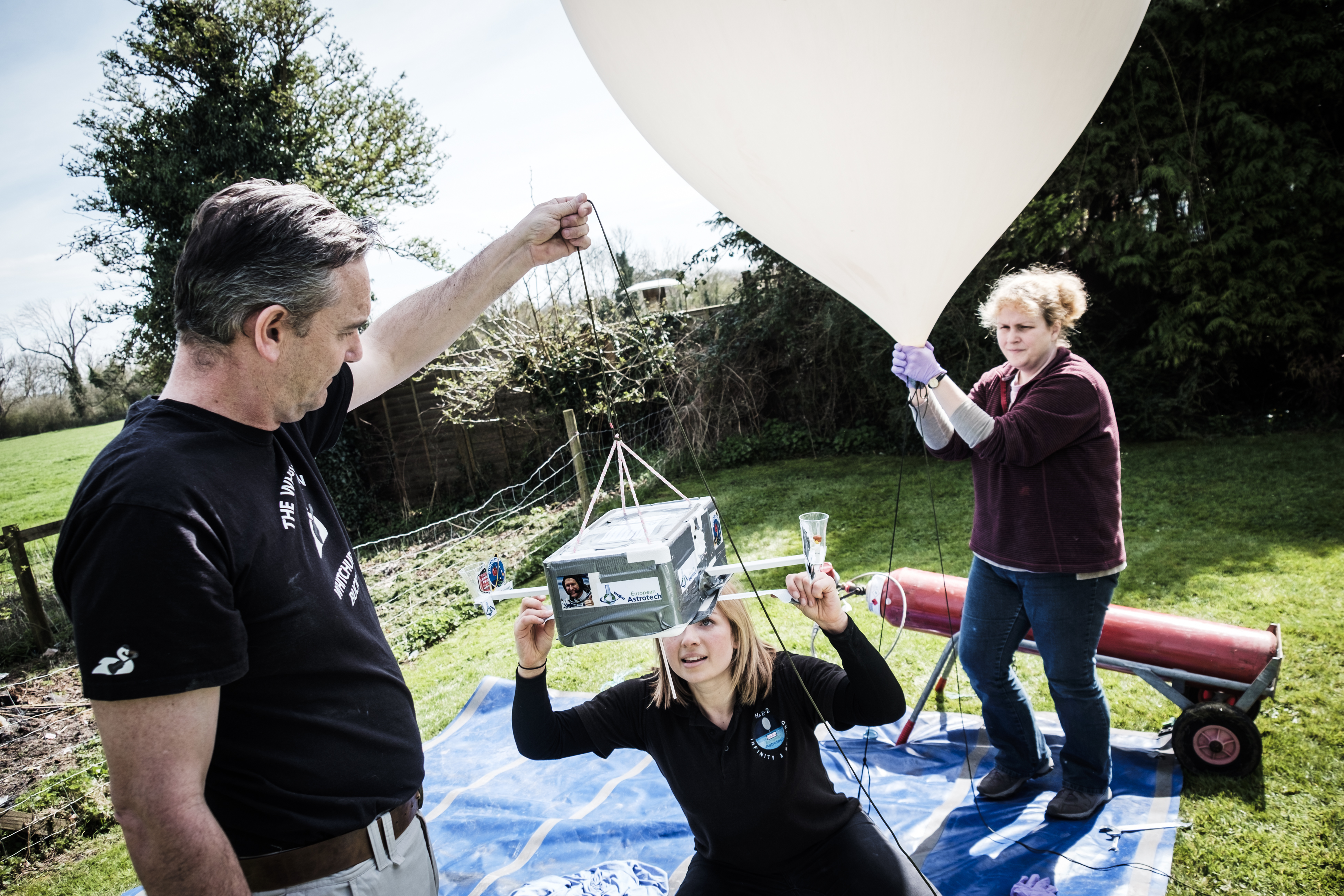 High Altitude Space Balloons Near Space, Education or Promotional Launch 1